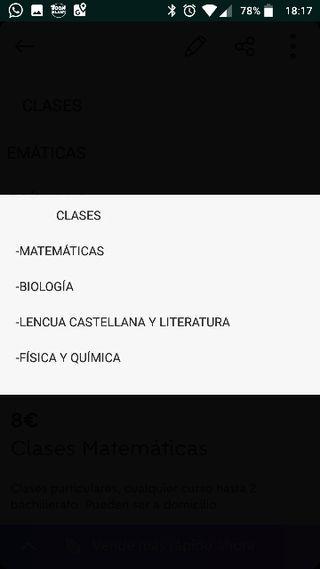 Clases Física y Química