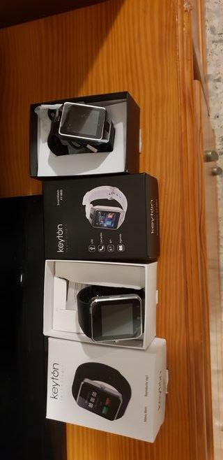 vendo 2 smart watch nuevos de estreno