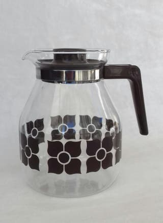 Jarra de café de cristal