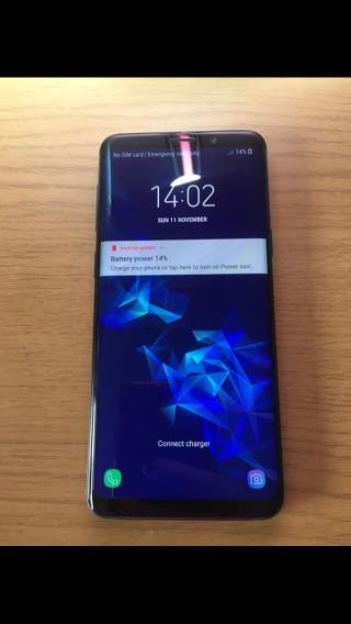 Samsung galaxy s9 plus for sale
