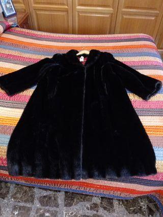 abrigo vison mujer