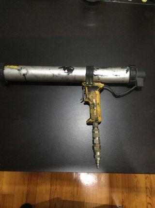 Pistola para cartuchos de Silicona, Sikas etc