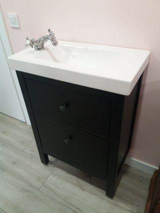 Mueble ikea lavabo de segunda mano en wallapop for Muebles ikea segunda mano barcelona