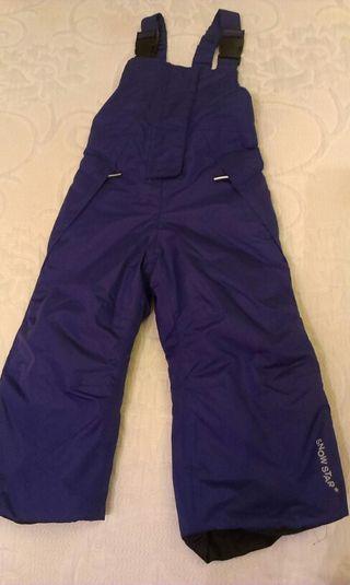 Pantalón peto nieve Lidly 86-92 cm
