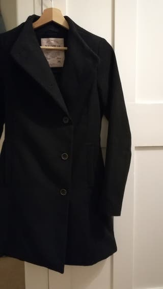Black coat for woman