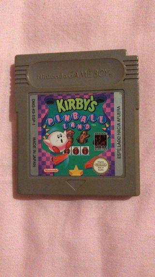 Kirby's Pinball Land - Game Boy Color