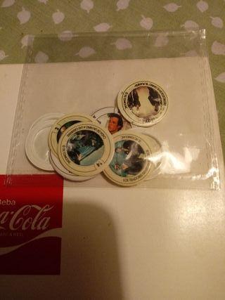 cromos album coca cola Superman II