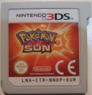 Juego 3DS - Pokemon Sol