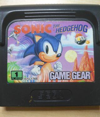 """Juego Game Gear - Sonic """"El Puercoespin"""""""