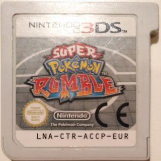 Juego 3DS - Super Pokemon Rumble