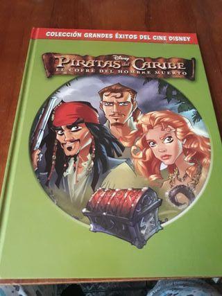 Libro cómic Piratas del Caribe