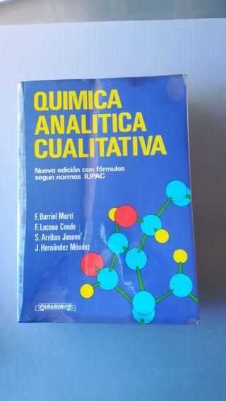 Química analítica cualitativa.