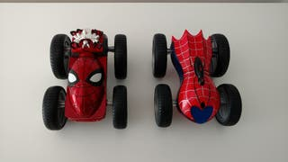 Coches convertibles Spiderman