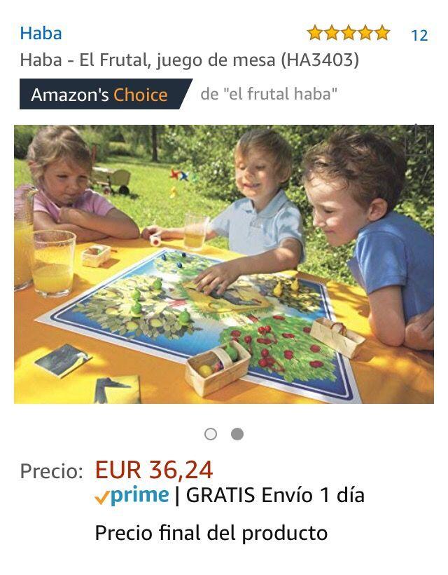 Juego Infantil El Frutal De Haba De Segunda Mano Por 20 En