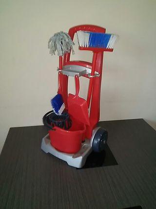 juegete carro de limpieza vileda