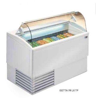 Vitrina 9 cubetas heladeria helados