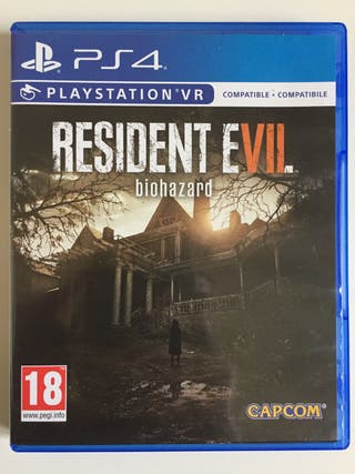Resident evil 7 biohazard (Juego ps4)