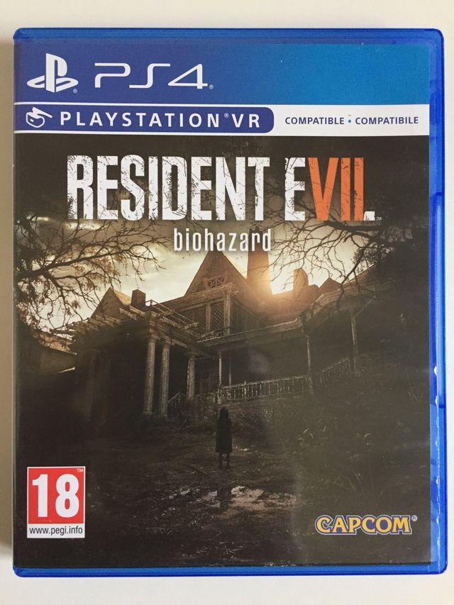 Resident Evil 7 Biohazard Juego Ps4 De Segunda Mano Por 25 En