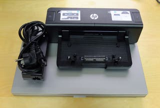 Portátil HP Elitebook 8470p + docking station