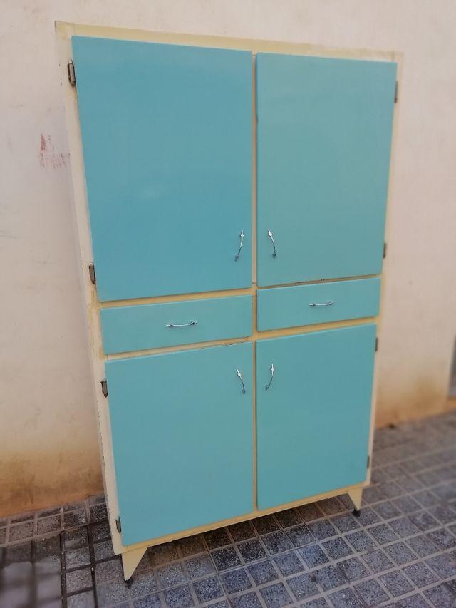 Mueble de cocina vintage de segunda mano por 180 en cartagena en wallapop - Muebles de cocina en cartagena ...
