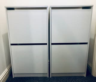 Shoe cabinet x4