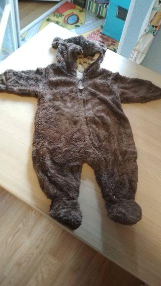 abrigo enterizo bebe