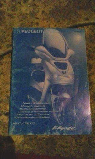 Libro Peugeot elyseo