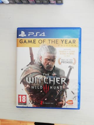 The Witcer 3: Wild Hunt Ps4