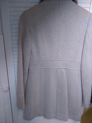 Segunda Beige Mano Por 12 Xs Mango Abrigo Mujer De Color wqgx6Y