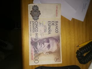 BILLETE DE 5000 PTAS