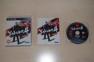 Yakuza 4 (PS3) [Nuevo]