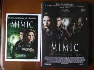 DVD Mimic y ficha