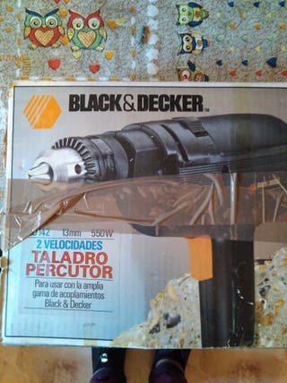taladro black-decker