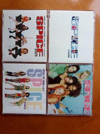 spice girls coleccion singles cd