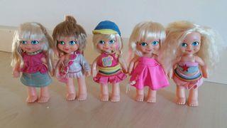 Lote 5 muñecas Barriguitas new
