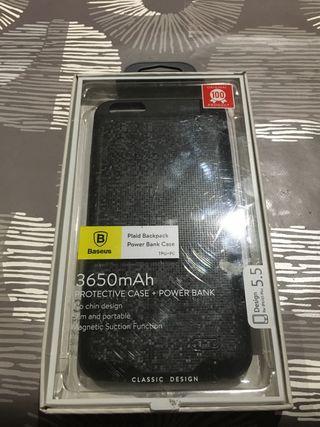 Funda cargador iPhone 6s plus