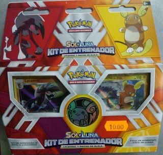 Pokemon Sol y Luna kit de entrenador Nuevo