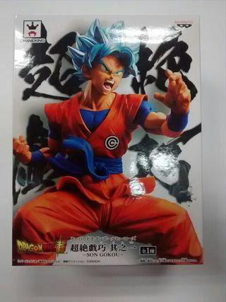 Figura Son Goku Blue Dragon Ball Super Banpresto