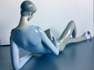 Lladró figura de porcelana descatalogada
