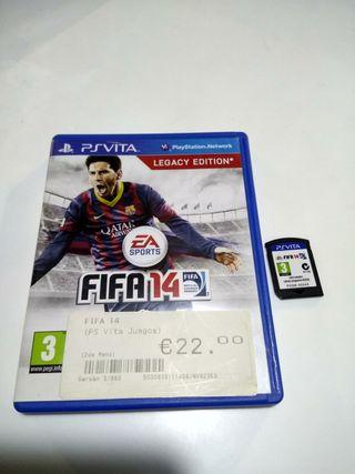 juego PSVita FIFA 14