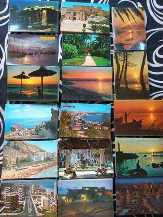 17 postales antiguas de Alicante