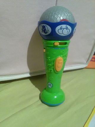Micrófono infantil bilingüe