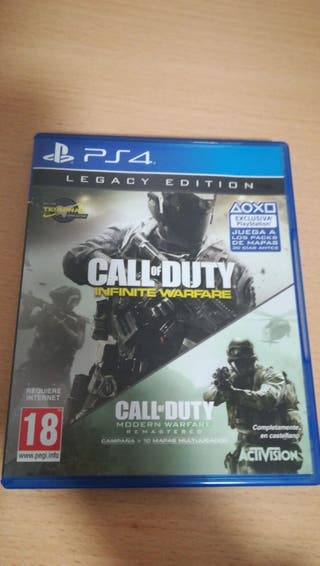 juego play 4 Call Of Duty