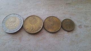 Monedas de escudos portugueses