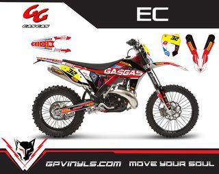 Kit gráficos Gas Gas Ec