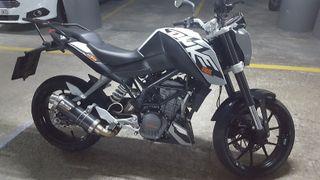 MOTO KTM DUKE 125cc