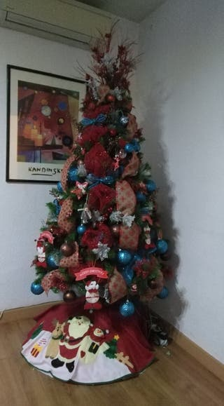 Te decoró tu árbol de Navidad.