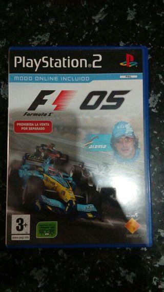 Juego playstation 2 F1 2005
