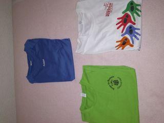 camisetas de fibra