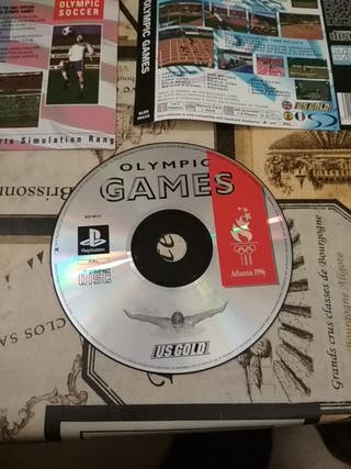 Olympic games psx CD y contraportada